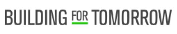 Building for Tomorrow Logo