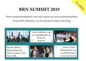 BRN Summit 2019: Nieuw projectmanagement voor meer impact op duurzaamheidsambities