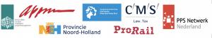Logo's partners Webinar Houd de bouw in beweging